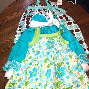 3 girl dress lots size 3T